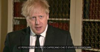 UK, Johnson: