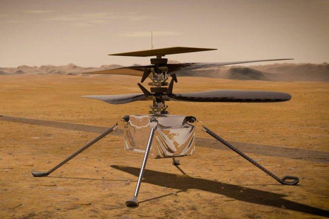 Ingenuity, il drone-elicottero conquista Marte