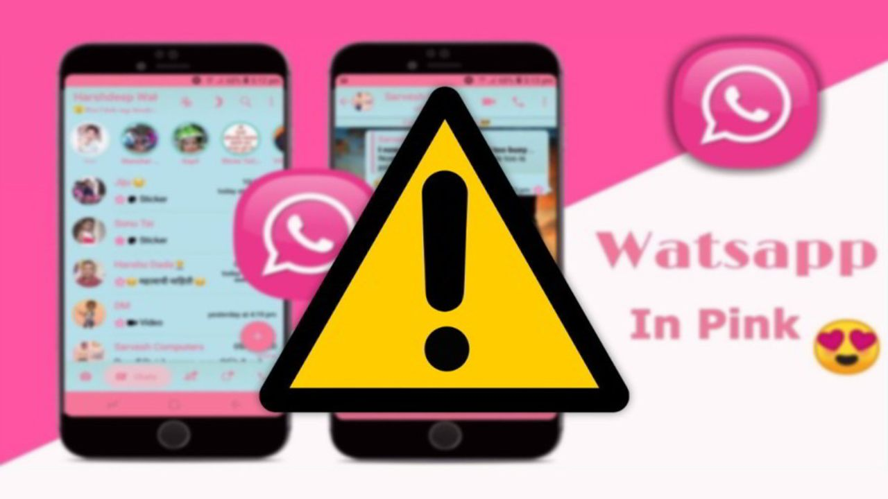 Pink WhatsApp virus