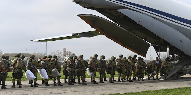 The Minister of Defense said that Russia will withdraw its forces that had mobilized near the Ukrainian border