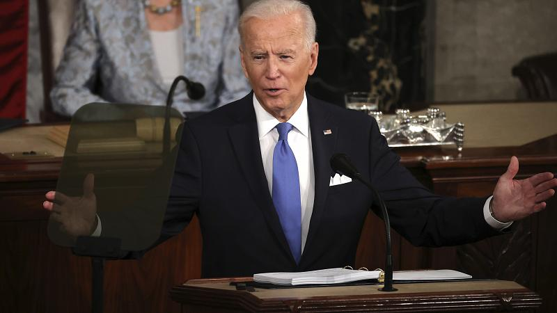 Biden announces over $ 4 trillion plan for families and work
