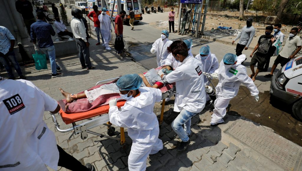 Corona virus in the world, America has nearly 200 million vaccines.  Record injuries in India