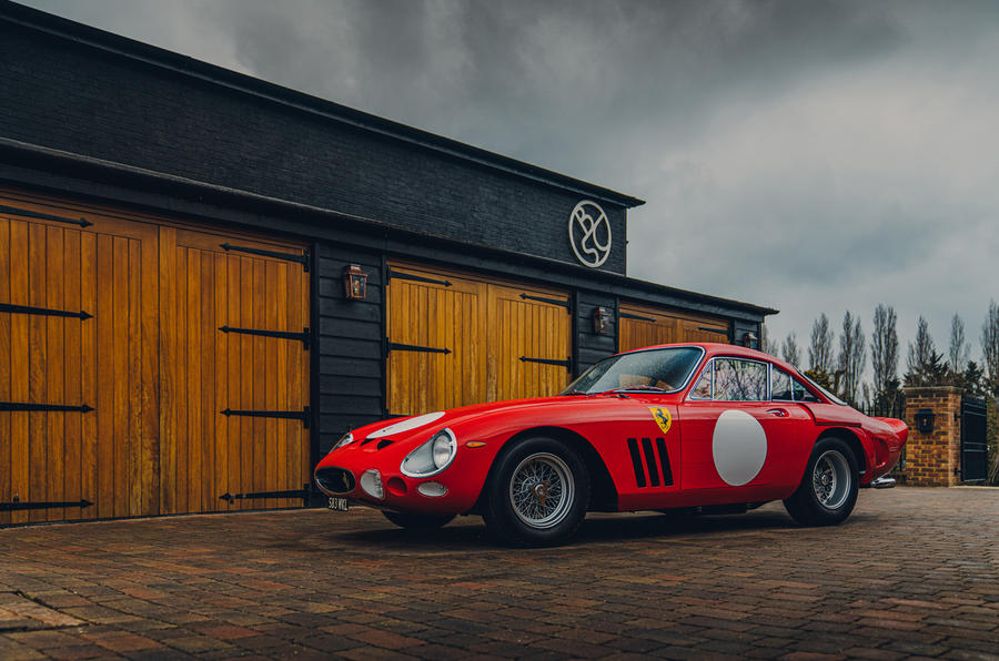 Ferrari 330 LMB and Bell Sport & Classic revive the classic legend