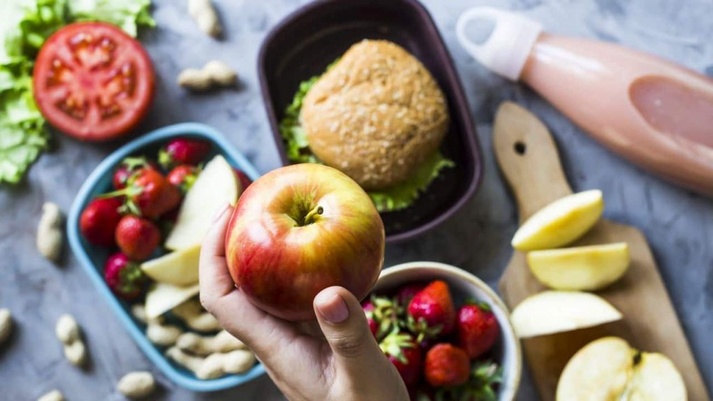 The study found that Americans eat a lot of unhealthy foods with the exception of school