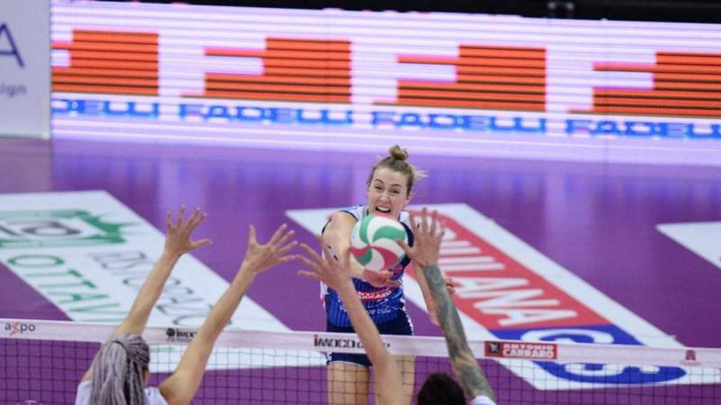 Volleyball, women's A1 final: Egono scores, Congliano goes 1-0