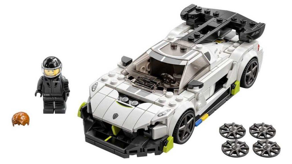 LEGO Speed Champions 2021: the UN Super Garage in Miniatura!