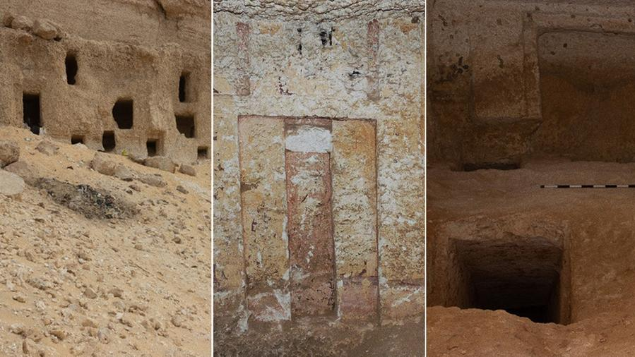"""Egypt discovers 250 graves dating back 4,200 years, even with a """"fake door"""""""