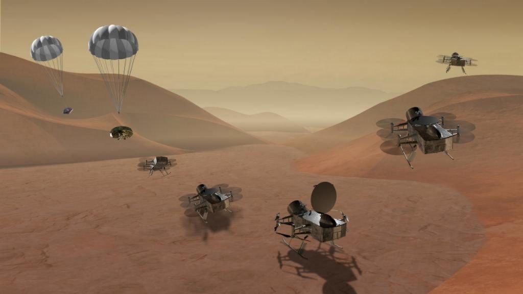 NASA Dragonfly: The Titan mission will land in the Silk Crater region