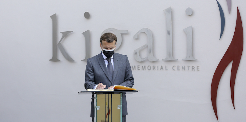French President Emmanuel Macron acknowledged France's responsibility in the genocide in Rwanda
