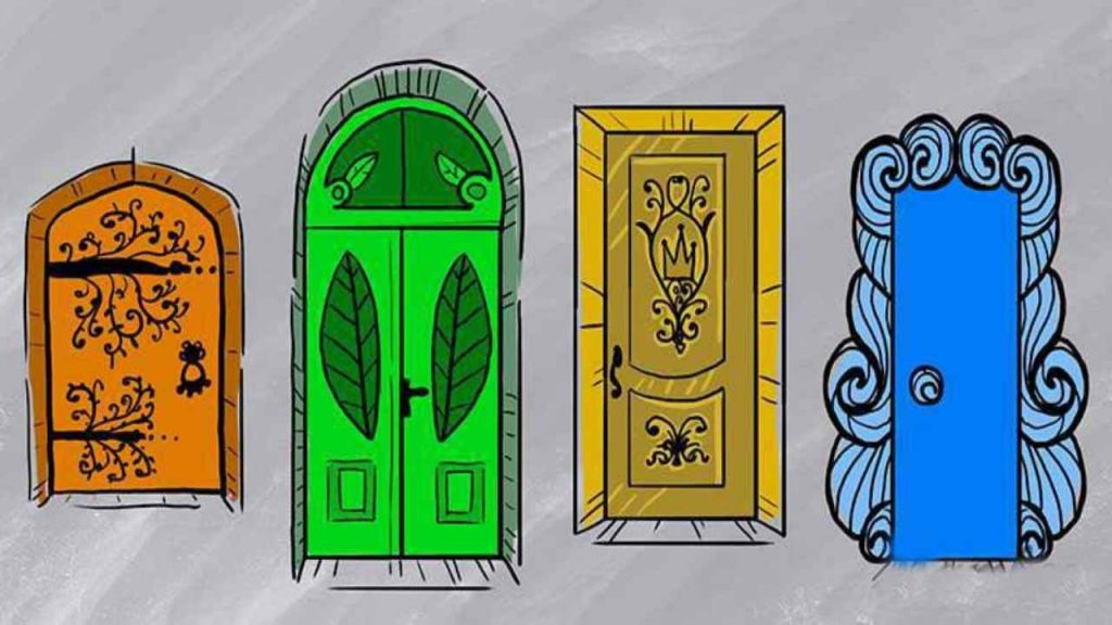 Psychological test: Which of these doors open?