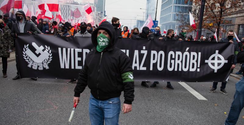 Social networks in Hungary and Poland to spread far-right ideas