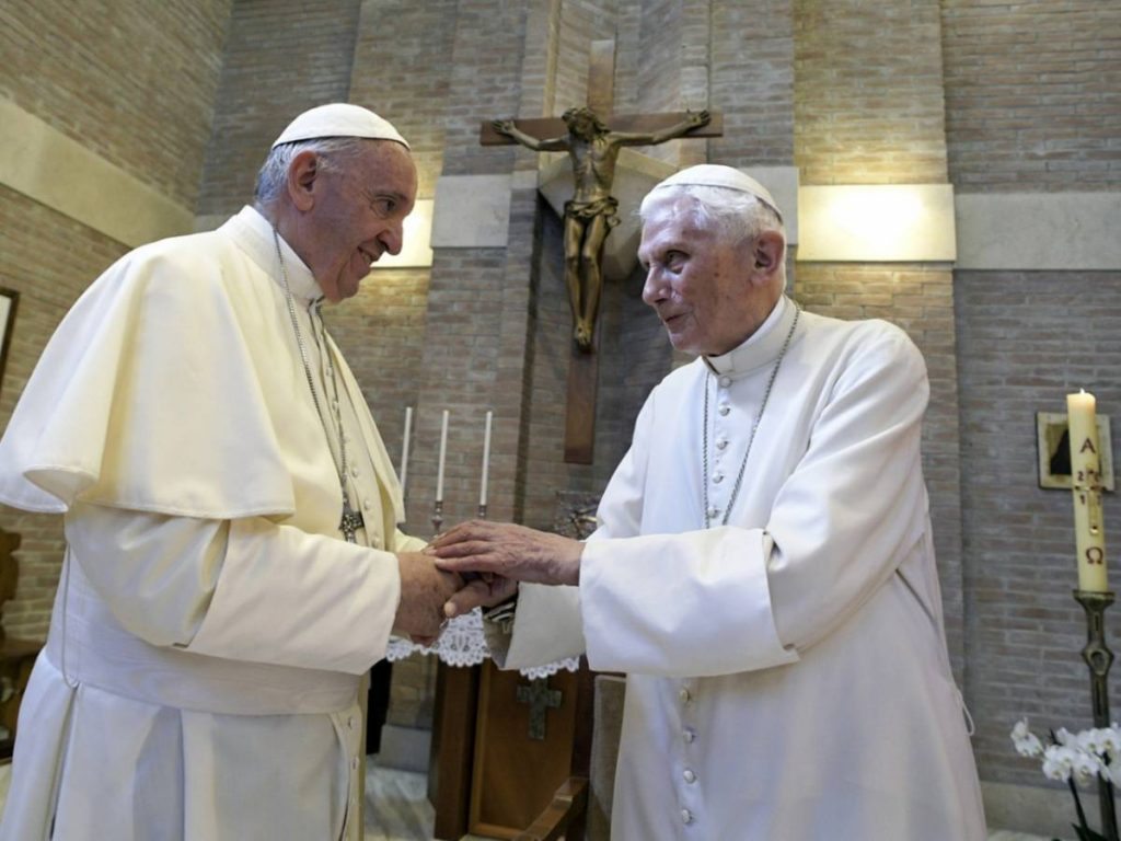 Because today everyone is re-discovering Ratzinger's greatness