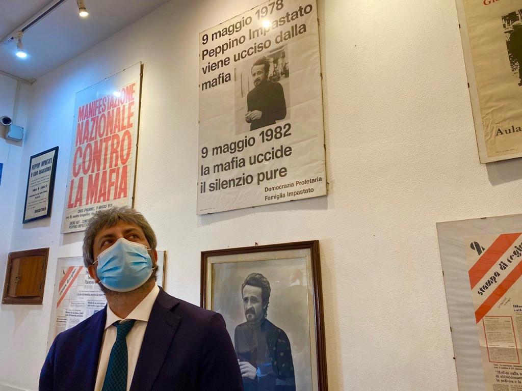 Fico regains the 'hundred steps' of Pecino Impastado