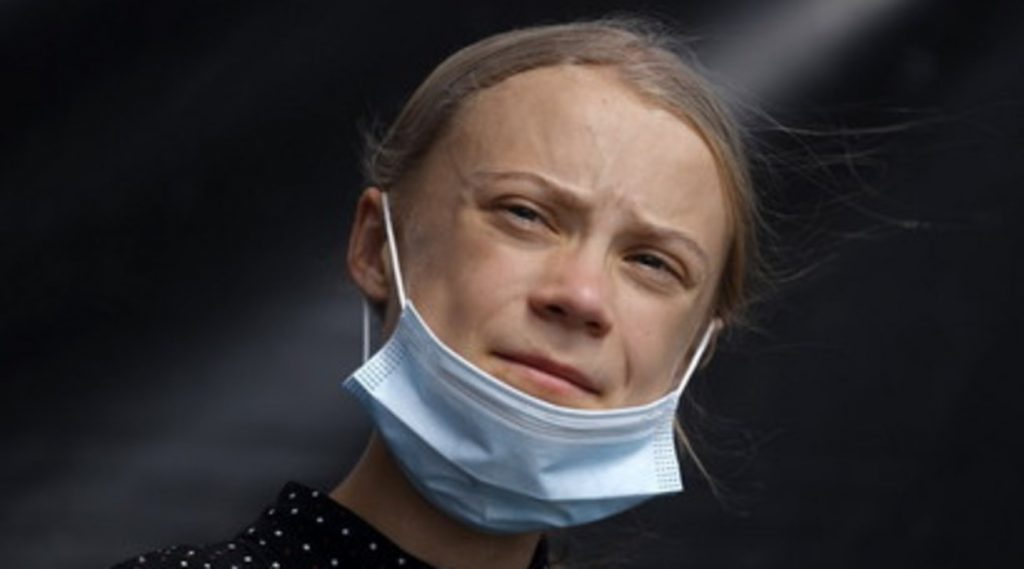Greta Thunberg is a victim of physical disgrace by a Chinese newspaper after her criticism of the emissions