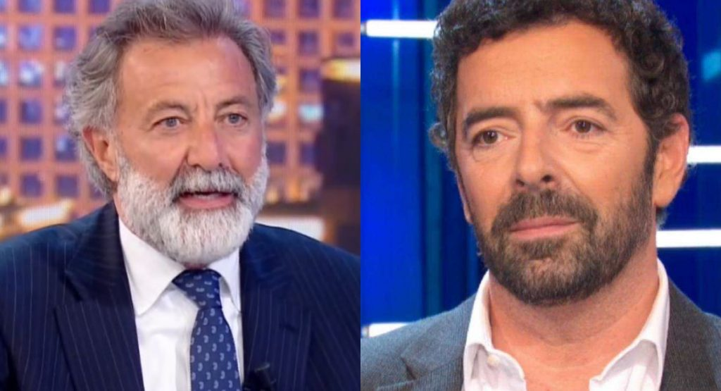 """Live the life, Alberto Matano is black with Luca Barbarski, he interrupted him and told him """"Do not use this language ..."""", Frost in the studio - Baritalia News"""