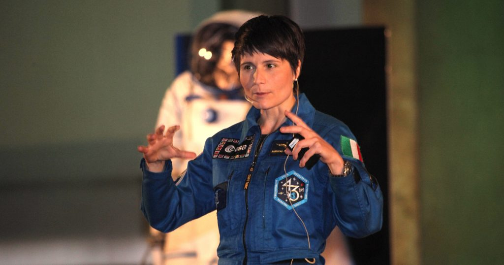Samantha Cristoforetti is the first European woman to command the International Space Station
