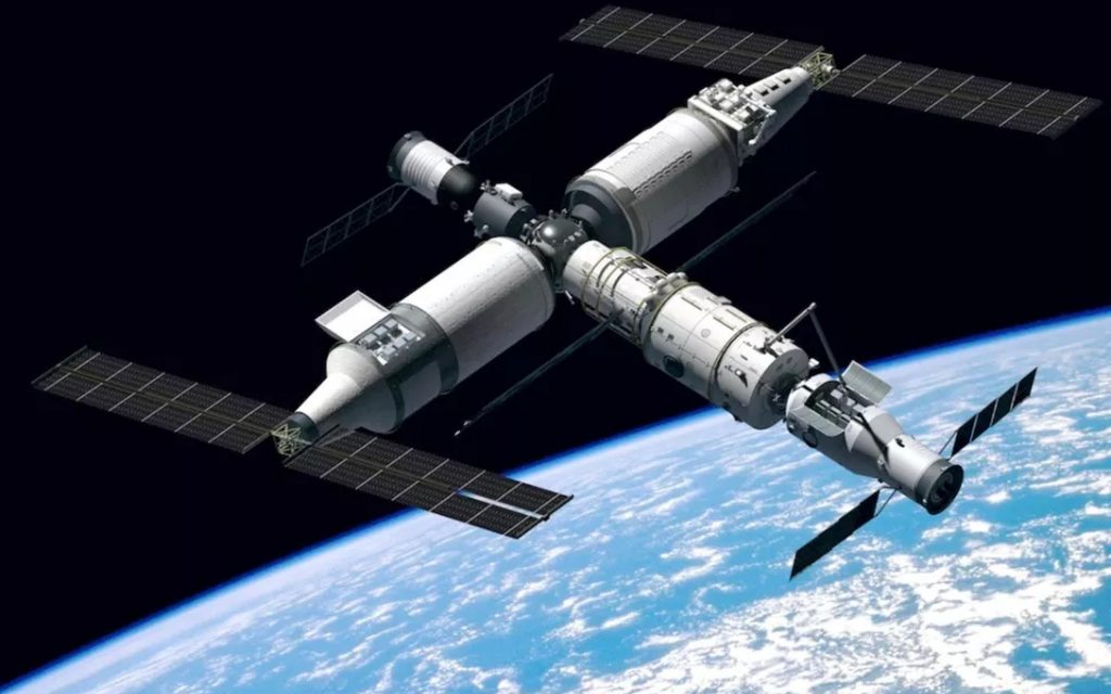 The Chinese space station is ready in 2022