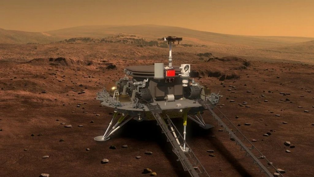 A video has been released for the opening of the Jurong Mars Rover's canopy