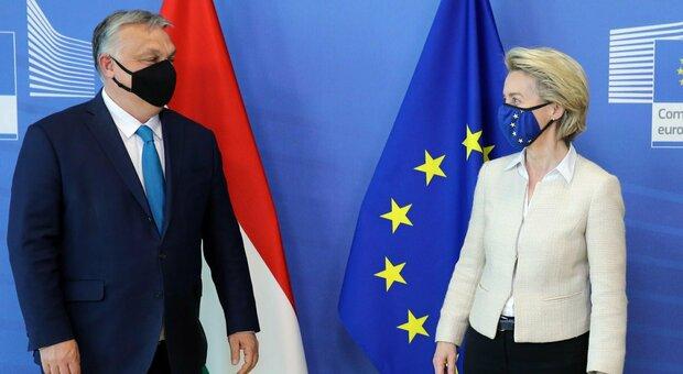 Hungary, anti-LGBT law dislikes Von Der Leyen: 'It's a shame'