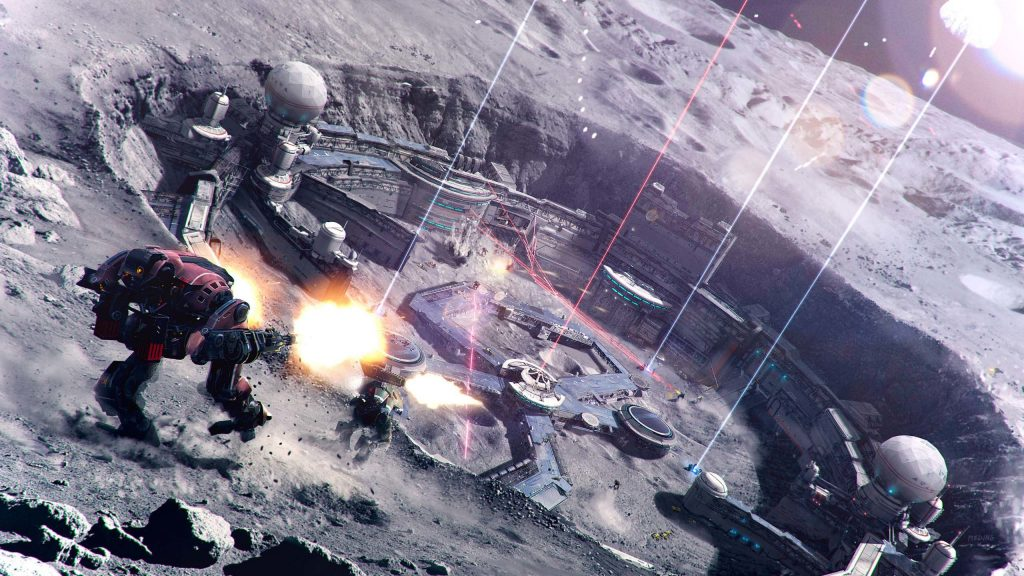 Is the US space force ready to militarize the moon and space?