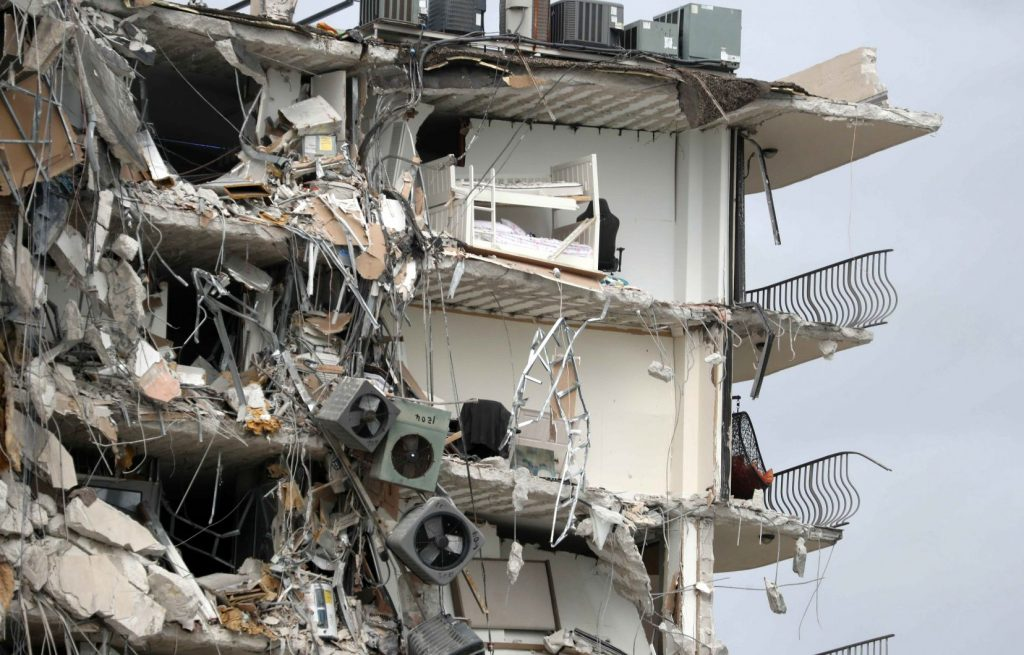 One dead, nearly 100 missing after tower collapse in Florida