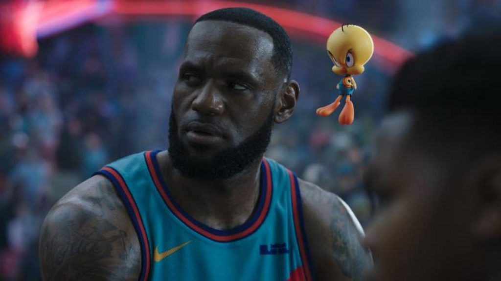 Space Jam with LeBron in Italy from September 23.  Dissident Carter for the movie