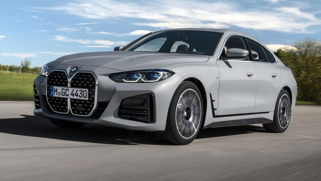 The BMW 4 Series Gran Coupe is the i4 twin petrol engine