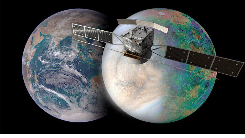The European Space Agency joins NASA on a special mission to Venus