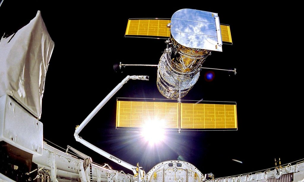 The Hubble telescope, a computer failure in the eighties that brought it to a halt