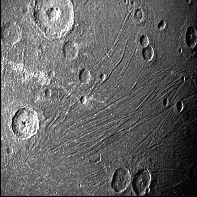 On Monday, Juno Ganymede, the frozen satellite of Jupiter, passed by