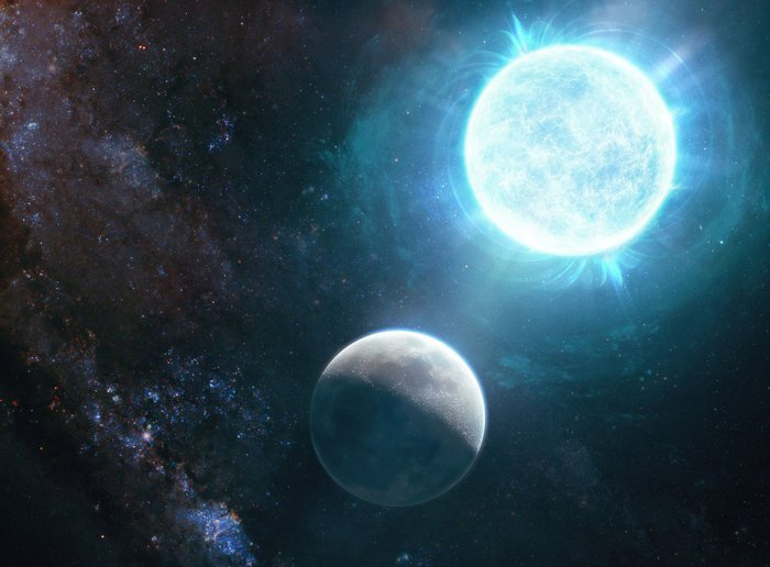 The discovery of a star that is about to collapse - space and astronomy