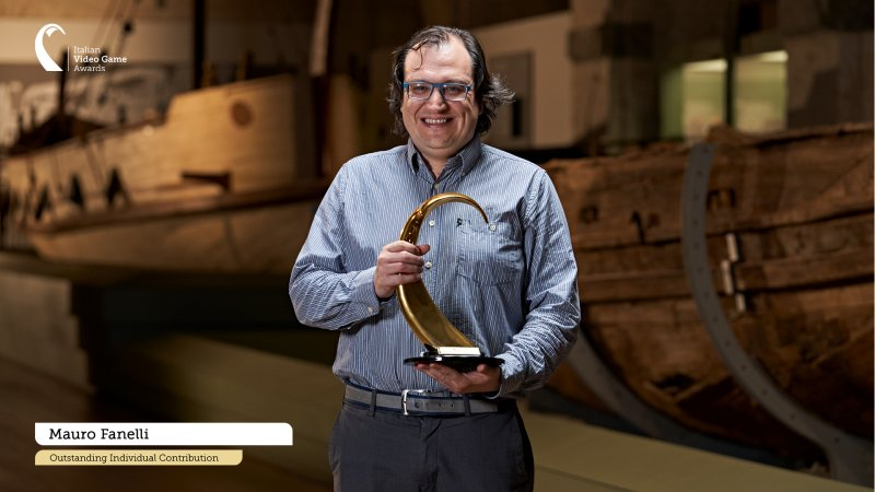 Mauro Vanelli, Award for Outstanding Individual Contribution.