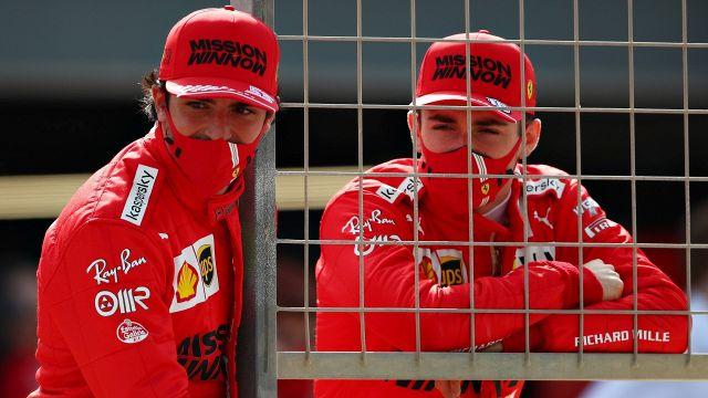 Leclerc and Sainz explain what happened