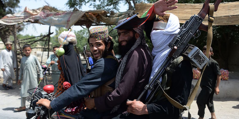 The Taliban have entered Kandahar, the second largest city in Afghanistan, and say they have captured a large part of the country