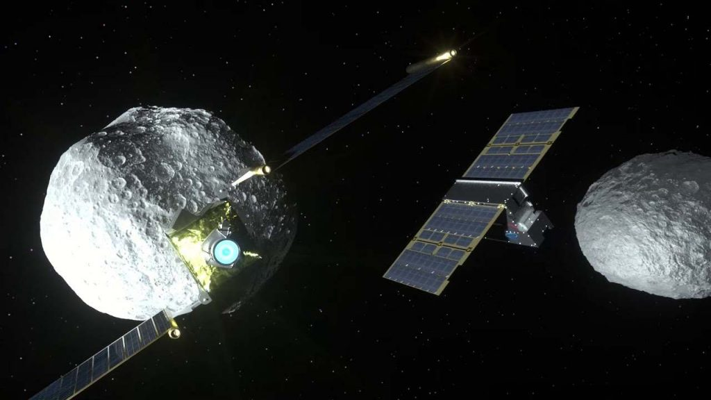 LICIACube, the Italian satellite that will photograph the clash between two asteroids for the first time