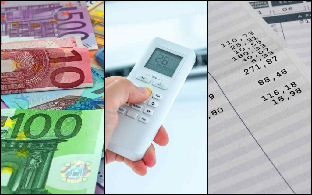 1200 euros in salaries |  Air conditioner nightmare