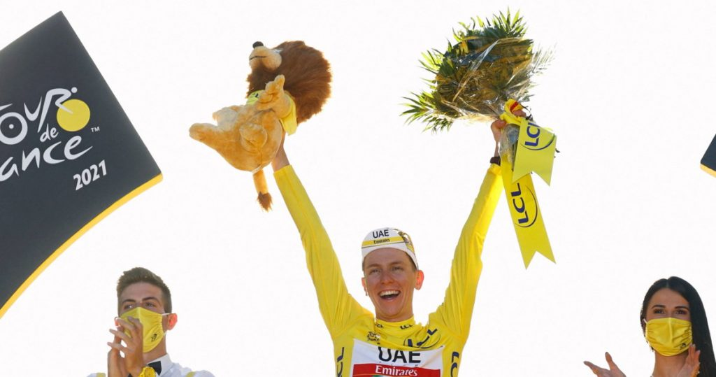 Cycling, Tour de France: Poujacquard triumphs in yellow in Paris, Van Aert wins at last podium |  News