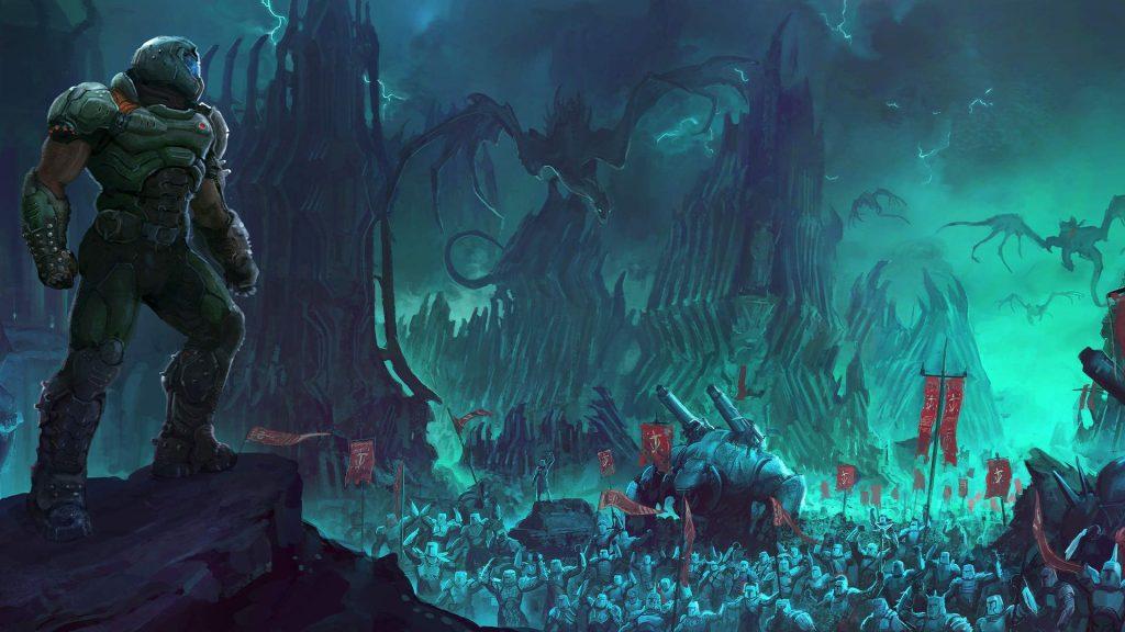 DOOM Eternal: PS5 update problems, Bethesda is working on them
