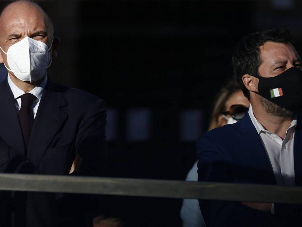 EU, treaty of sovereignty: Letta-Salvini fight erupts