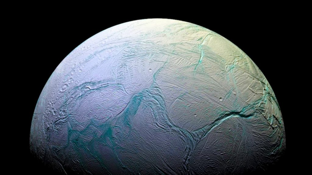 Enceladus, seismic activity reveals details about the thickness of the ice crust