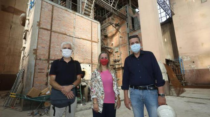 Ex Fiat in Novoli, work has begun on the new urban center and exhibition space with balcony