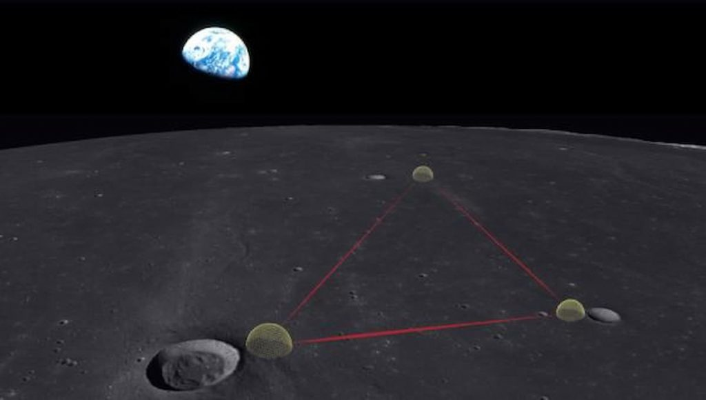 GLOCK, the gravitational-wave observatory on the Moon