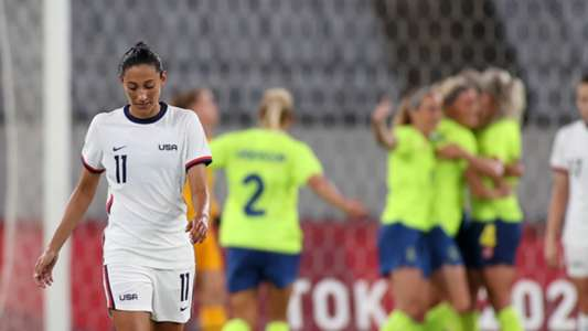 Historic defeat for Olympic, American women: 3-0 by Sweden after 44 useful results