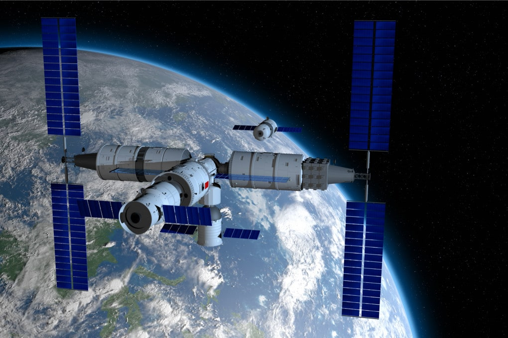 How are things going on the Chinese space station?