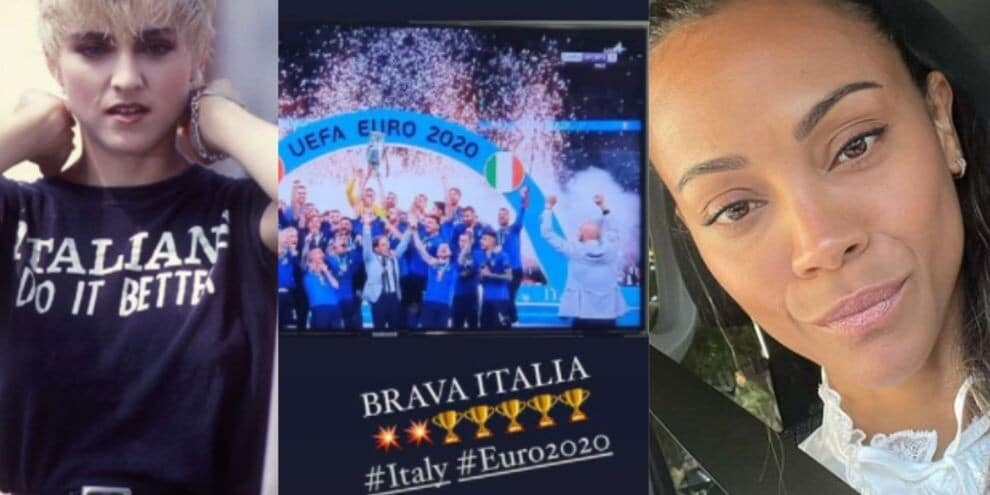 Madonna and other Hollywood stars who cheered for Italy