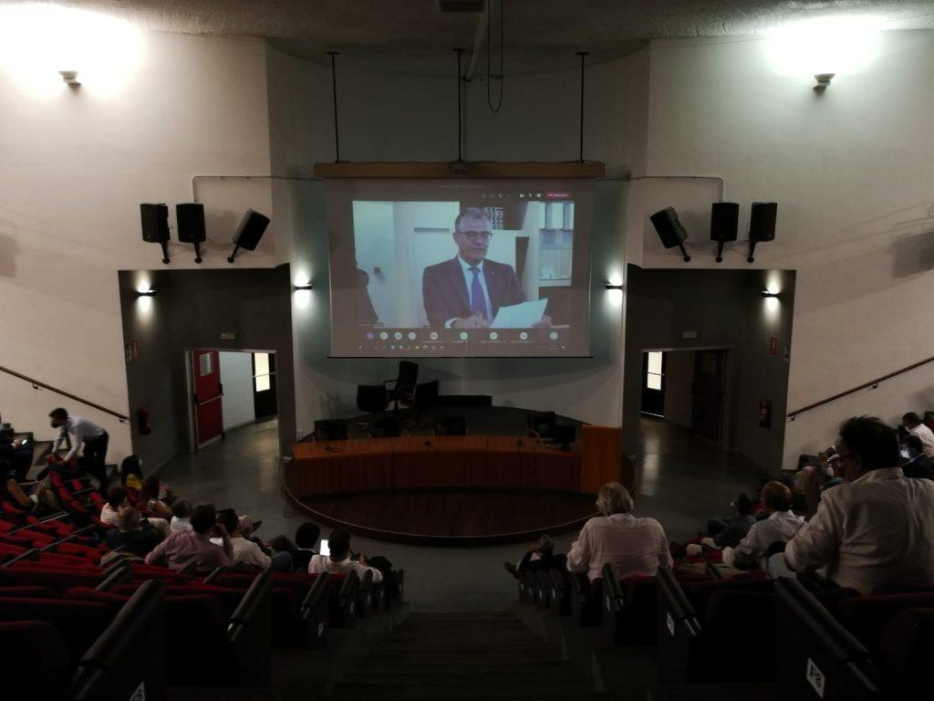 Mediterranea University welcomes the President of the Italian Space Agency