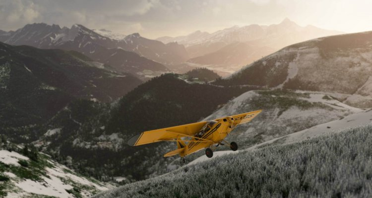Microsoft Flight Simulator per Xbox Series X    S si mostra in large format in video - Multiplayer.it