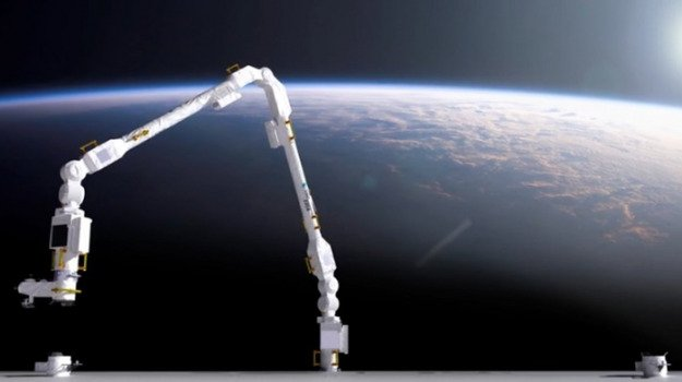 New European robotic arm launched for space station