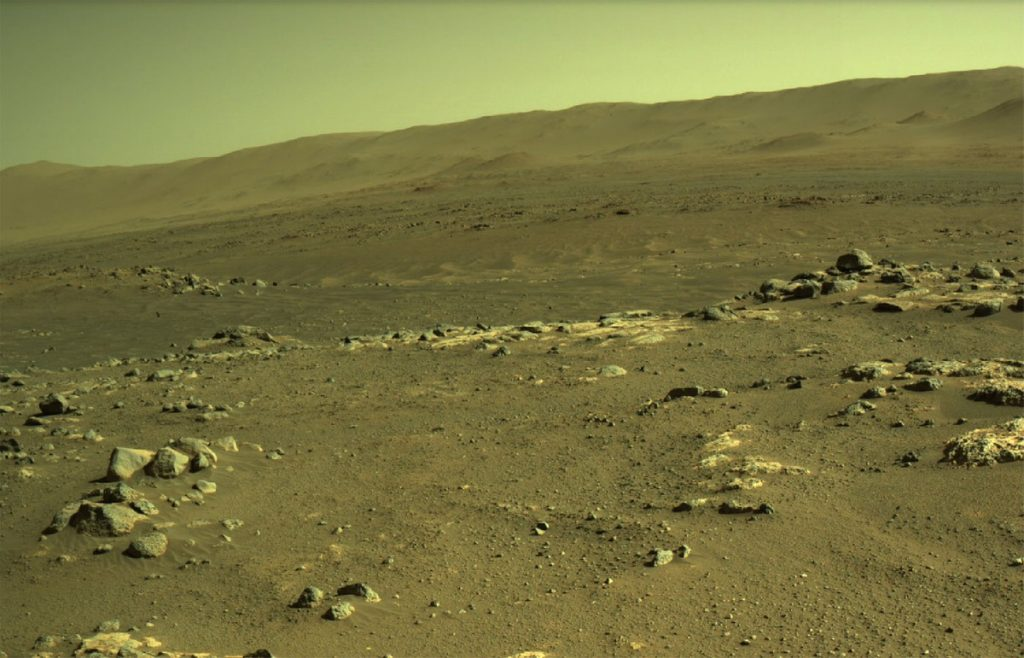 Pictures of the ingenuity of Stah, the region of Mars that perseverance will never be able to visit