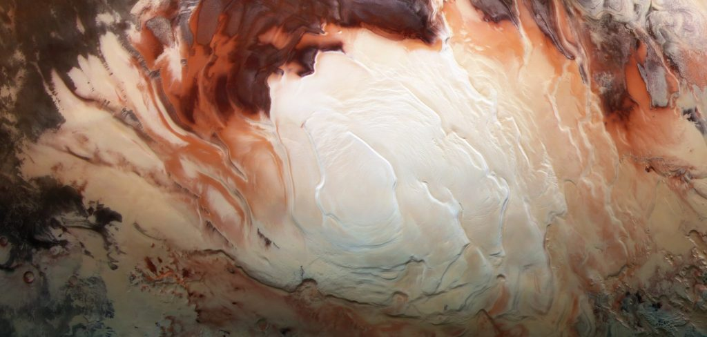The South Pole of Mars, mystery solved?